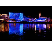 Ars Electronica And The Danube Photographic Print