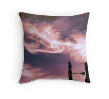 Neverending Story -Dragon with Kelpie's Face Throw Pillow