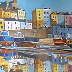 Tenby Harbour Reflection   by Emma Cownie