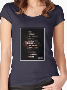 Smart Women's Fitted Scoop T-Shirt