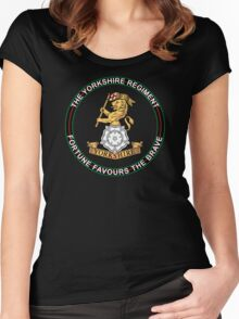 Yorkshire Regiment Women's Fitted Scoop T-Shirt