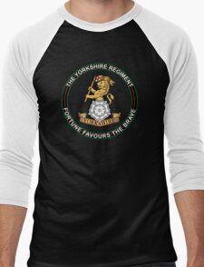 Yorkshire Regiment Men's Baseball ¾ T-Shirt