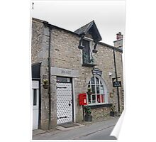 The Old Beetham Post Office Lancaster uk Poster