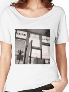 Classic cafes London T-shirt Women's Relaxed Fit T-Shirt