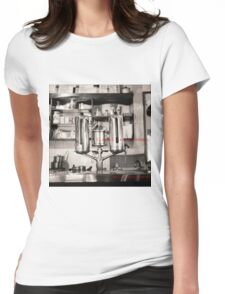 Classic cafes London T-shirt Womens Fitted T-Shirt