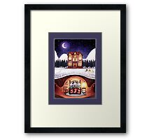 Christmas in the Burrow Framed Print