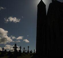 Cashel castle ireland by Karl  Zielke