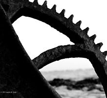 Ship Anchor Escapement Detail   Fire Island, New York by © Sophie W. Smith