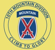 10th Mountain Division Kids Clothes