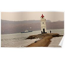 Russia Lighthouse Poster
