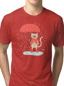 Rainy Day Tri-blend T-Shirt