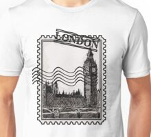 London Post Stamp Unisex T-Shirt