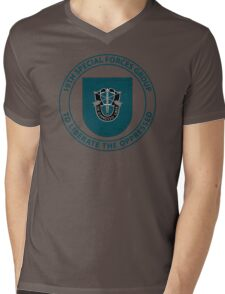 19th Special Forces Group Mens V-Neck T-Shirt