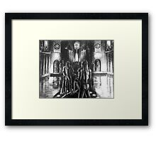 The Temples of Syrinx Framed Print