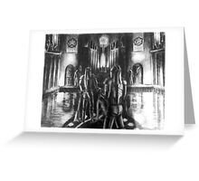 The Temples of Syrinx Greeting Card