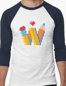 DREW WISE LOGO Men's Baseball ¾ T-Shirt