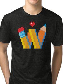 DREW WISE LOGO Tri-blend T-Shirt