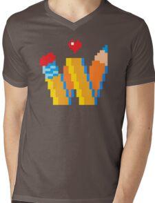DREW WISE LOGO Mens V-Neck T-Shirt