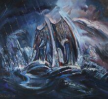 Race in Open Sea by Stefano Popovski
