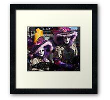 Carnival of Venice Framed Print