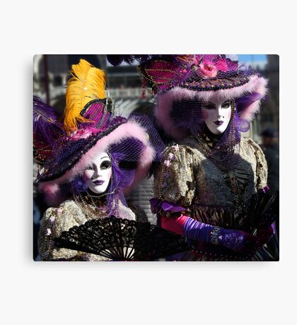 Carnival of Venice Canvas Print