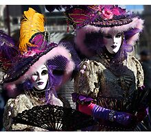 Carnival of Venice Photographic Print