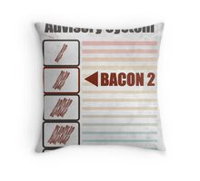BACON 2 Throw Pillow