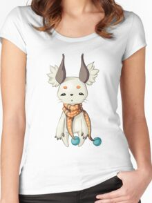 Fluffy Ears Women's Fitted Scoop T-Shirt