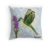 Hungry all day Throw Pillow