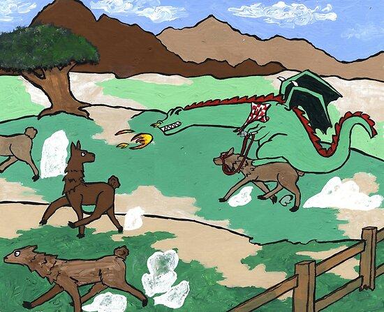 Llama lunchathon  by 324heathers
