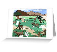 Llama lunchathon  Greeting Card