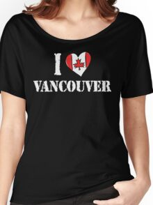 I Love Montreal Canada Women's Relaxed Fit T-Shirt
