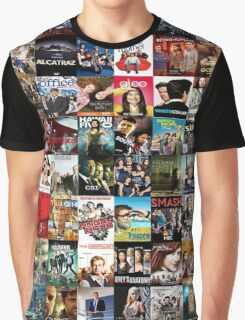Tv series-Patchwork Graphic T-Shirt