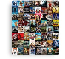 Tv series-Patchwork Canvas Print