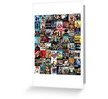 Tv series-Patchwork Greeting Card