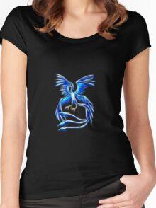 Articuno Pokemon Legendary Bird Women's Fitted Scoop T-Shirt