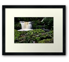 McLean Falls in Southland New Zealand Framed Print