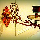 Antique piano candle holder by The Creative Minds