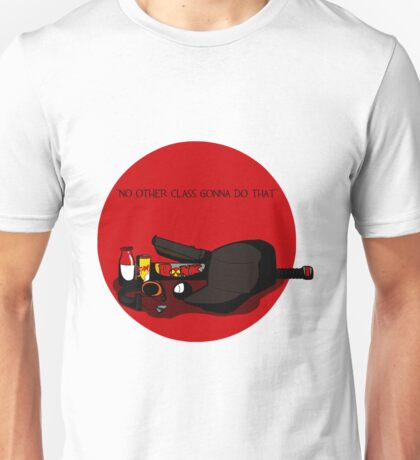 TF2 RED scout gear QUOTE Unisex T-Shirt