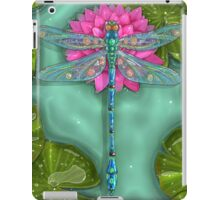 Dragonfly and Water Lily iPad Case/Skin