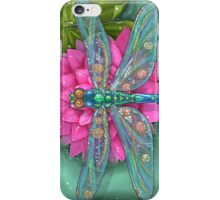 Dragonfly and Water Lily iPhone Case/Skin