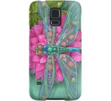 Dragonfly and Water Lily Samsung Galaxy Case/Skin