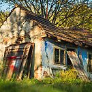 Old abandoned and colorful house by Mario Cehulic