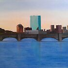 Boston Skyline by Ken Pratt