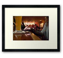 """""""Social"""" Framed Print"""
