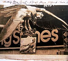 ROLLING STONES '73 TOUR, TIMES SQUARE BILLBOARD by Barbara Sparhawk