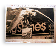 ROLLING STONES '73 TOUR, TIMES SQUARE BILLBOARD Canvas Print