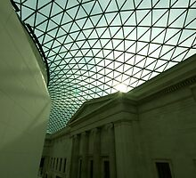 British Museum Glass Roof by lanesloo