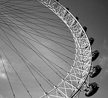 London Eye Ferris Wheel by lanesloo