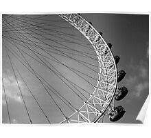 London Eye Ferris Wheel Poster